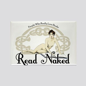 Read Naked Rectangle Magnet