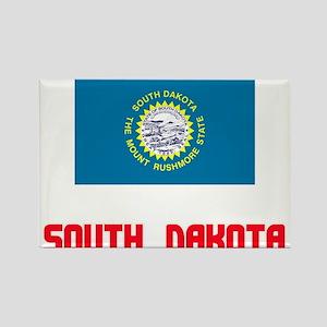 South Dakota Flag Design Magnets