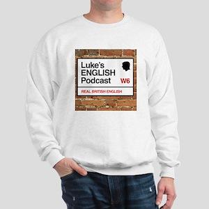 Luke's English Podcast Sweatshirt