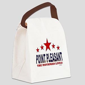 Point Pleasant The Mothman Lives Canvas Lunch Bag