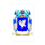 Hirschhorn Sticker (Rectangle 10 pk)