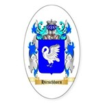 Hirschhorn Sticker (Oval)
