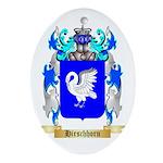 Hirschhorn Ornament (Oval)