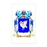 Hirschfield Sticker (Rectangle)