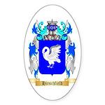 Hirschfield Sticker (Oval 10 pk)
