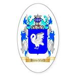 Hirschfield Sticker (Oval 50 pk)