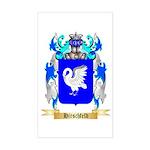 Hirschfeld Sticker (Rectangle)