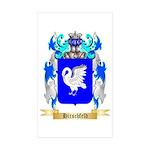 Hirschfeld Sticker (Rectangle 10 pk)