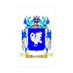 Hirschfeld Sticker (Rectangle 50 pk)