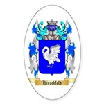 Hirschfeld Sticker (Oval 50 pk)
