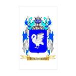 Hirschenstein Sticker (Rectangle 50 pk)