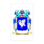 Hirschenson Sticker (Rectangle)