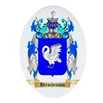Hirschenson Ornament (Oval)