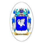 Hirschenboim Sticker (Oval 50 pk)