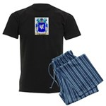 Hirschberg Men's Dark Pajamas