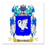 Hirschbein Square Car Magnet 3