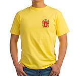 Hirsch Yellow T-Shirt