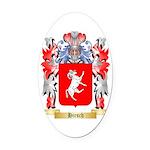 Hirsch Oval Car Magnet
