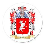 Hirsch Round Car Magnet
