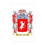Hirsch Sticker (Rectangle 50 pk)