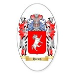 Hirsch Sticker (Oval)