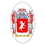 Hirsch Sticker (Oval 50 pk)