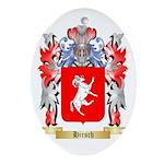 Hirsch Ornament (Oval)