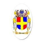 Hirons Oval Car Magnet