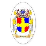 Hirons Sticker (Oval 50 pk)