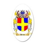Hiron 35x21 Oval Wall Decal