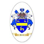 Hird Sticker (Oval 50 pk)