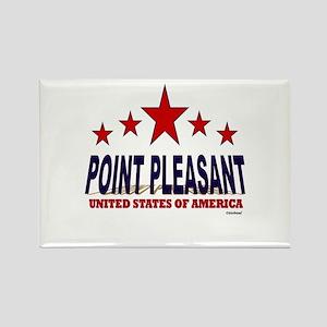 Point Pleasant U.S.A. Rectangle Magnet