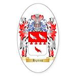 Hipkiss Sticker (Oval 50 pk)