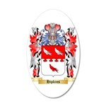 Hipkins 35x21 Oval Wall Decal