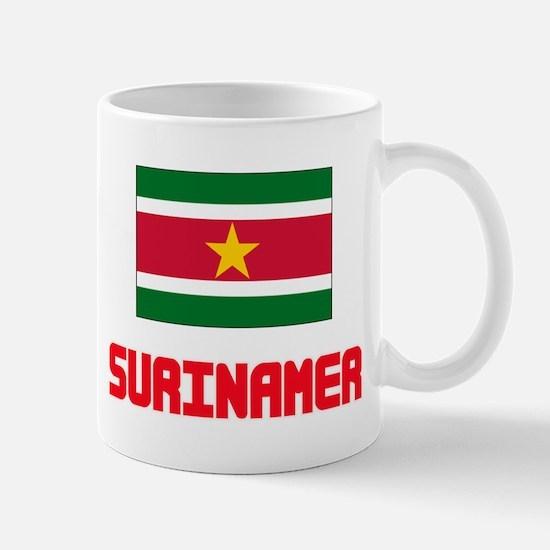 Surinamer Flag Design Mugs