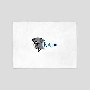 TEAM KNIGHTS 5'x7'Area Rug