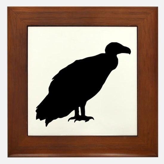 Vulture Framed Tile