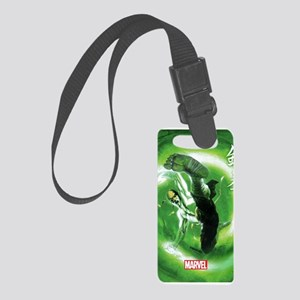 Iron Fist Green Painting Small Luggage Tag