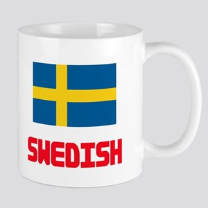 Swedish Flag Design Mugs