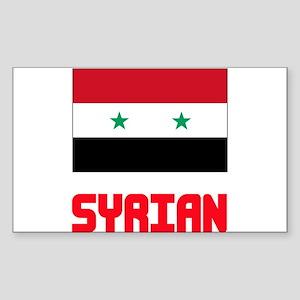 Syrian Flag Design Sticker