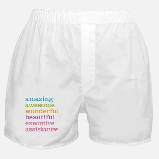 Executive Assistant Boxer Shorts