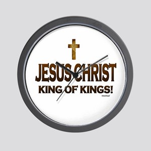 Jesus Christ King of Kings Wall Clock