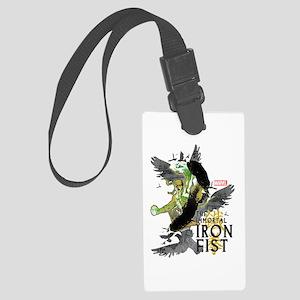 Iron Fist Birds Large Luggage Tag