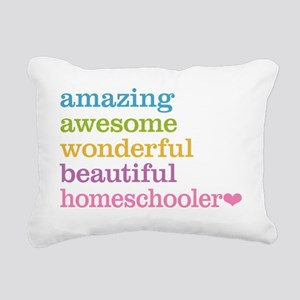 Homeschooler Rectangular Canvas Pillow