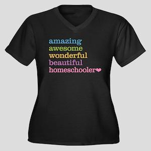 Homeschooler Plus Size T-Shirt