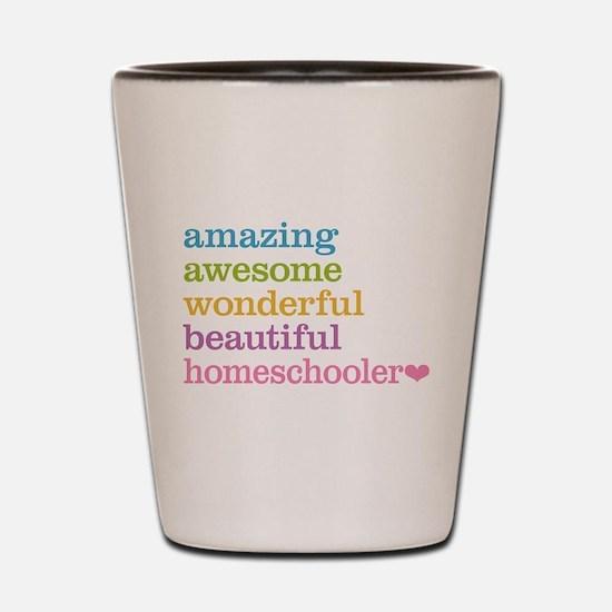 Homeschooler Shot Glass
