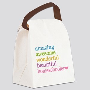 Homeschooler Canvas Lunch Bag