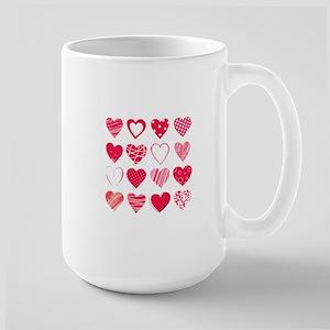 Hearts Large Mug