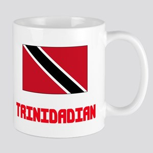 Trinidadian Flag Design Mugs