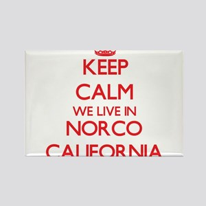 Keep calm we live in Norco California Magnets